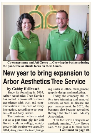 Arbor Aesthetics Featured in Midland's Business Journal